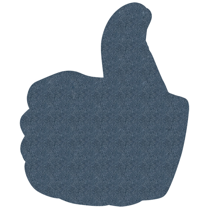 "Foam Hand, Thumbs Up Mitt (14"")"