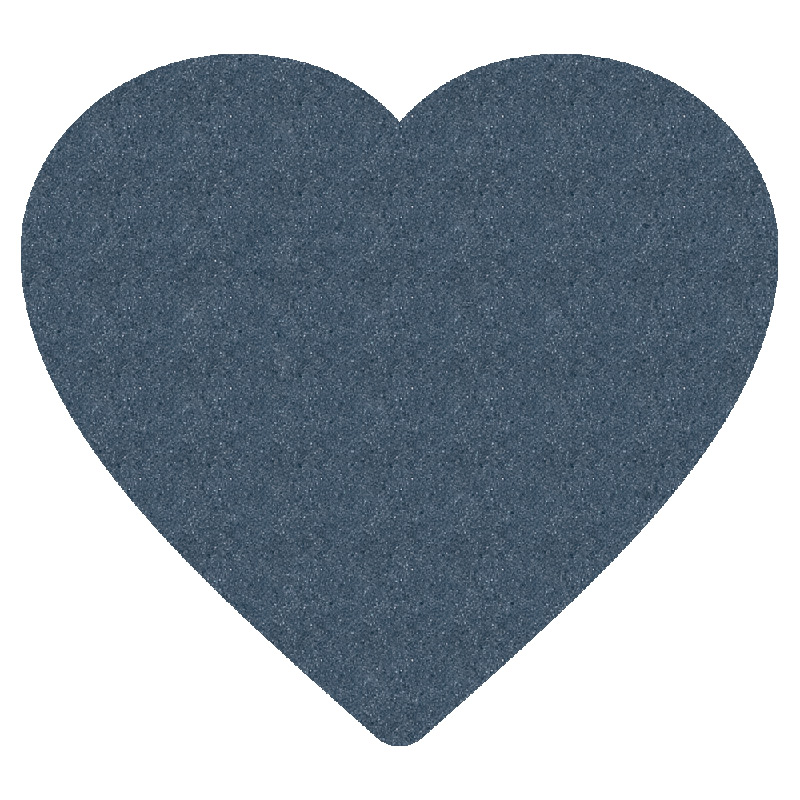 "Foam Mitt, Heart (12"")"