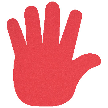 "High Five Foam Hand Mitt (17.5"")"
