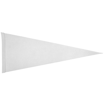 "Felt Strip Pennant (12""x30"") Four Color Process Imprint"
