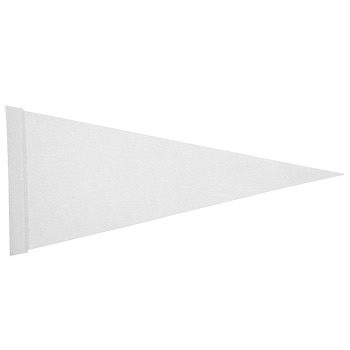 "Felt Strip Pennant (8""x18"") Four Color Process Imprint"