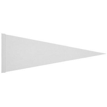 "Felt Strip Pennant (9""x24"") Four Color Process Imprint"