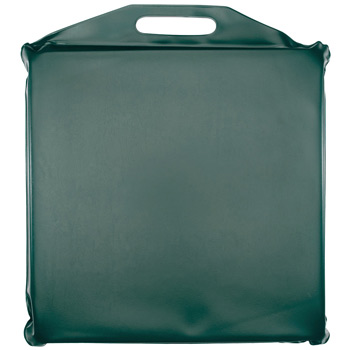 "Square Vinyl Stadium Seat Cushion (14"" x 14""x 2"")"